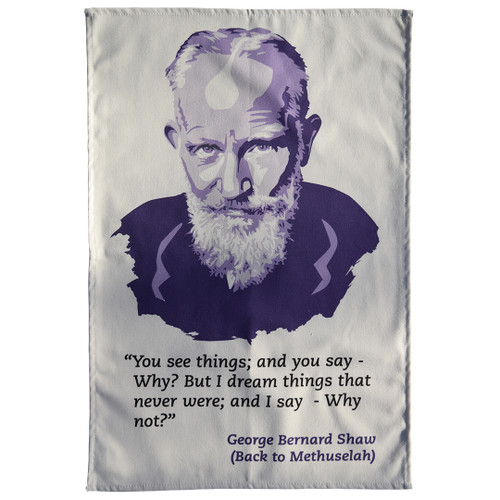 George Bernard Shaw Tea Towel