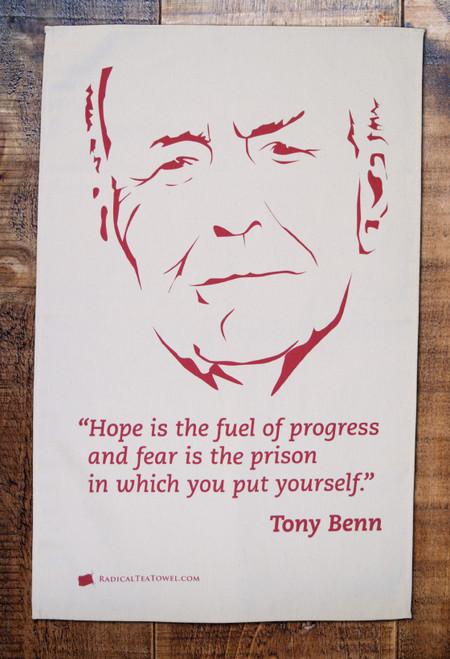 Tony Benn Tea Towel