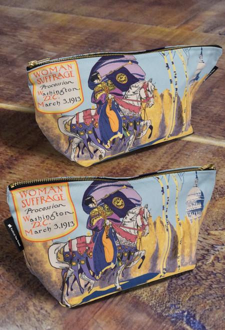 Washington DC Suffrage Premium Wash Bag