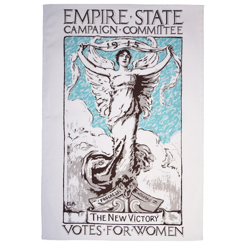 Empire State Committee Votes for Women Tea Towel