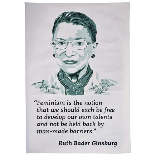 Ruth Bader Ginsburg Feminism Tea Towel
