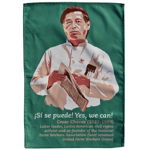 Cesar Chavez Tea Towel