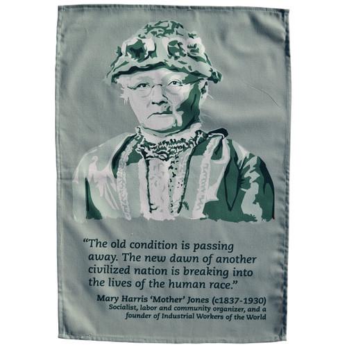 Mother Jones Tea Towel