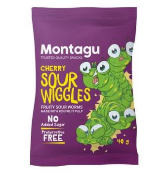 Sour Wiggies - Cherry 40g