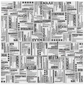 Deco paper - Woordeboek -