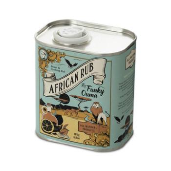 Tin African Rub 195g
