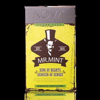 Dark Chocolate With Mint Slab 100g