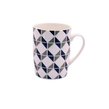Ceramic Mug - Black & Grey - 350ml