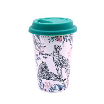 Ceramic Travel Mug - The Wild Ones - 400ml