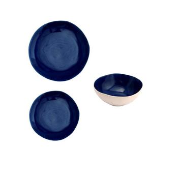 Ceramic Dinnerware - Dark Blue