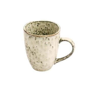 Ceramic Mug - Beige & Dark Brown Speckled - 350ml