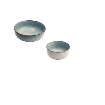 Ceramic Bowl - Faded Dove Grey
