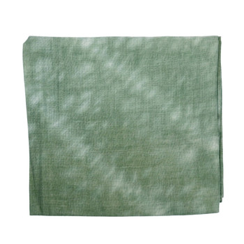 Green With White Stain Polyester Scarf (90x180cm)