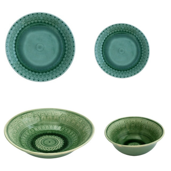 Ceramic Dinnerware - The Forest Green Collection