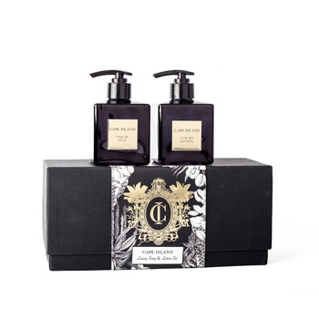 Black Gold Soap, Lotion Gift Box