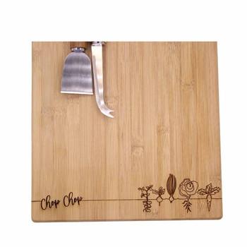 Engraved Bamboo Board - Chop Chop