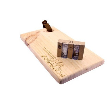 Wooden Cutting Board Engraved - Home is Where the Wife Cooks
