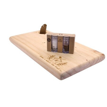 Wooden Cutting Board Engraved - Home is Where the Food is