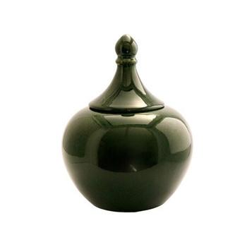 Emerald Green Ginger Jar (22.5x22.5x29.5cm)
