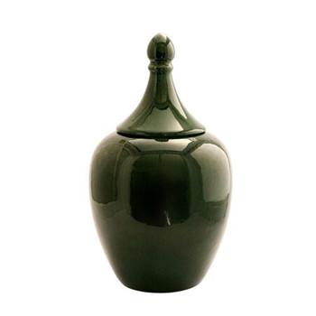 Emerald Green Ginger Jar (20x20x34.5cm)