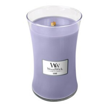 Large Woodwick Candle - Lilac