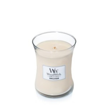 Medium Woodwick Candle - Vanilla Bean 275g