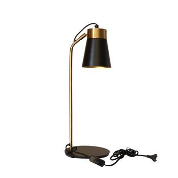 Gold Brushed & Matt Black Desk Lamp (56cm)