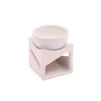 Intrigue White  Ceramic Oil Burner