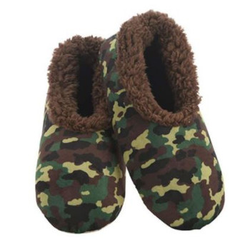 Mens Green Camo Snoozies