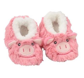 Pig Baby Furry Footpal Snoozie