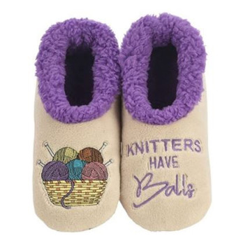 Snoozies Knitters Have Balls