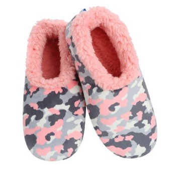 Snoozies Ladies Pink Camo