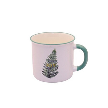 Ceramic Mug - 400ml - Single Leaf: Joy