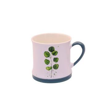 Ceramic Mug - 340ml - Water Lilly Leaf