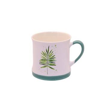 Ceramic Mug - 340ml - Palm Leaf