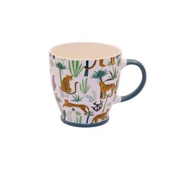 Ceramic Mug - 400ml - Leopards & Jungle