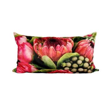 Scatter Cushion - Fynbos Protea Bouquet (55x95cm)