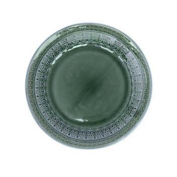 Ceramic Dinner Plate - Emerald Green  (27cm)