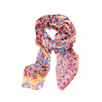 Scarf - Summer Color Mosaic