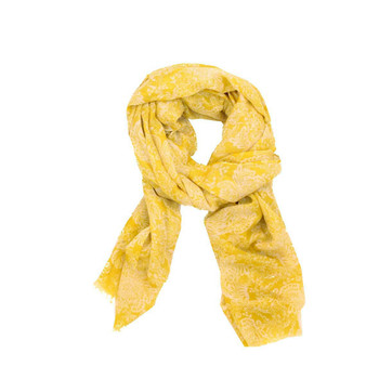 Scarf - Summer Yellow Pattern
