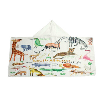 South African Animals Beach Cloak