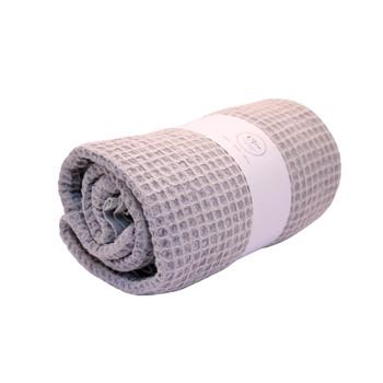 Waffle Weaved Versatile Wet Pebble Towel 85x160cm