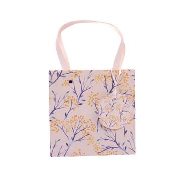Flower and Leave Medium Bag (23x23x20cm)
