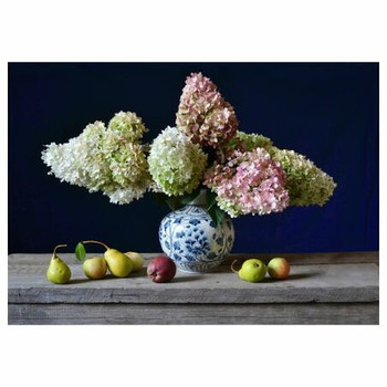 PVC Table Placemats - Still Life Bouquet With Fruit