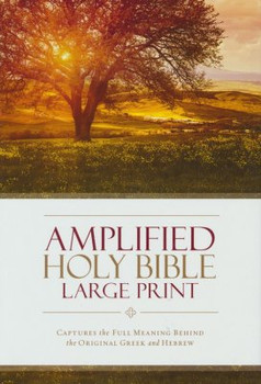 Amplified Large Print Bible Hardcover