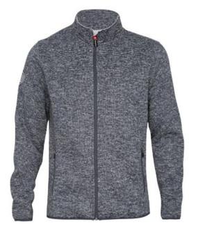 Blizzard Fleece Jacket Grey Platinum