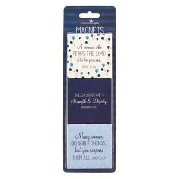 Proverbs 31 Prayer For A Mom's Heart Magnet Set