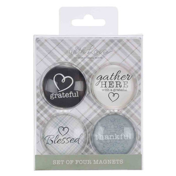 Gather Here With A Grateful Heart Magnet Set