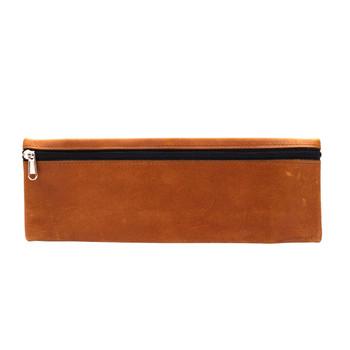 Long Leather Pencil Case (32cm)