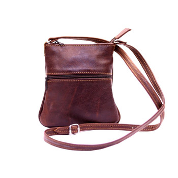 Two Zip Sling bag - Small (19x14cm)